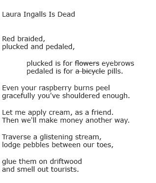 Laura Ingalls Is Dead